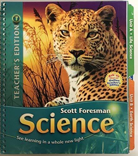 9780328113927: Scott Foresman Science Grade 6 Teacher's Edition Volume 1