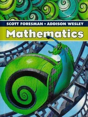 9780328117093: SCOTT FORESMAN ADDISON WESLEY MATH 2005 STUDENT EDITION SINGLE VOLUME GRADE 5