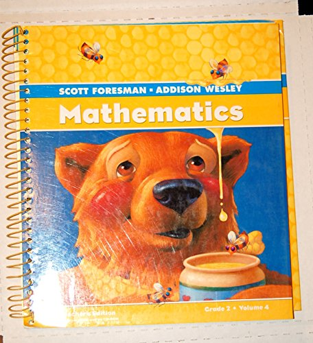9780328117222: Scott Foresman Mathematics Grade 2 (Volume 4)