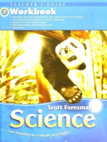 9780328126071: Science, Grade 4: Workbook, Teacher Guide