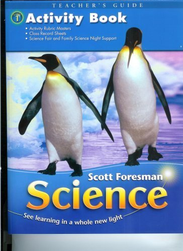 9780328126163: Activity Book Teacher's Guide (Scott Foresman Science, First Grade)