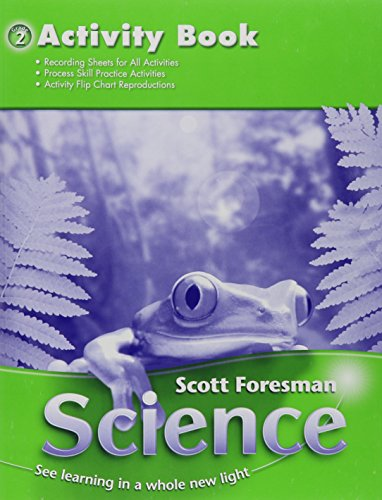 9780328126231: Science 2006 Activity Manual Grade 2 (Scott Foresman Science)