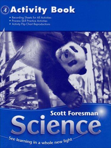 9780328126255: Science, Activity Book, Grade 4
