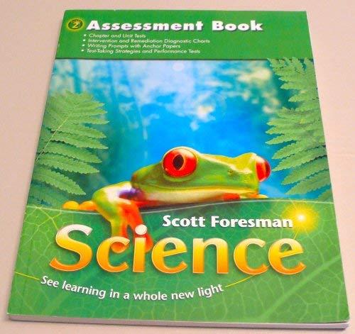 9780328126309: Scott Foresman Science Grade 2 Assessment Book