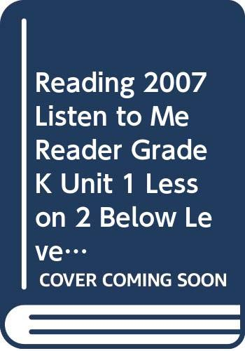9780328130375: Reading 2007 Listen to Me Reader, Grade K, Unit 1, Lesson 2, Below Level: How Many?