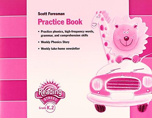 9780328145102: READING 2007 PRACTICE BOOK GRADE K.2