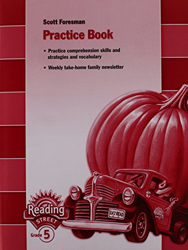 9780328145225: READING 2007 PRACTICE BOOK GRADE 5
