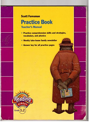 9780328145355: Scott Foresman Reading Street Grade 3.2 Practice Book Teacher's Manual