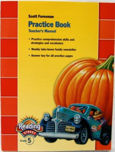 9780328145379: Practice Book: Reading Street, Grade 5, Teachers Manual