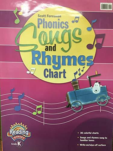 9780328145461: Phonics Songs and Rhymes Flip Chart Grade K
