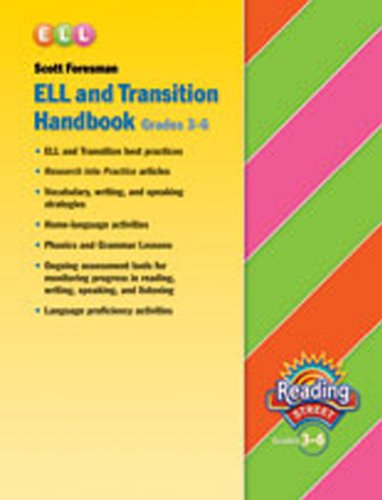 9780328145560: READING 2007 ENGLISH LANGUAGE LEARNERS AND TRANSITION HANDBOOK GRADE 3 THROUGH 6