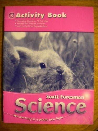 9780328145652: SCIENCE 2006 ACTIVITY BOOK GRADE K