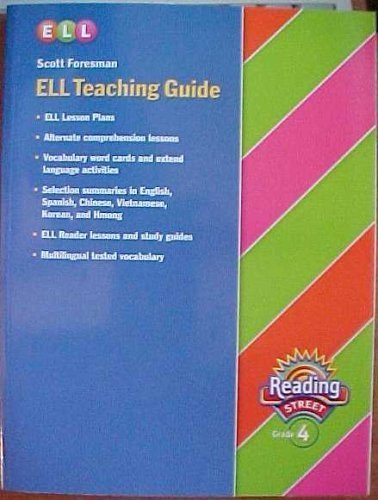 9780328146024: ELL Teaching Guide Grade 4 (Reading Street)