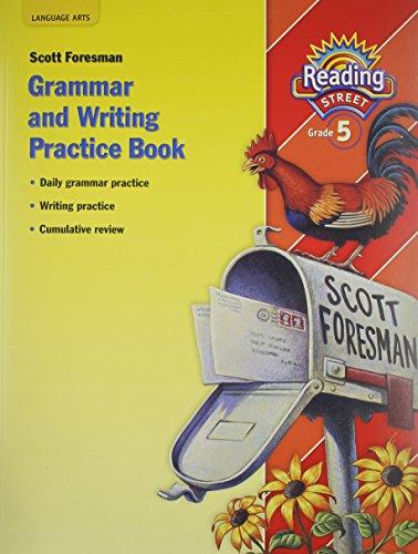 9780328146260: Reading Street, Grade 5: Grammar and Writing Practice Workbook