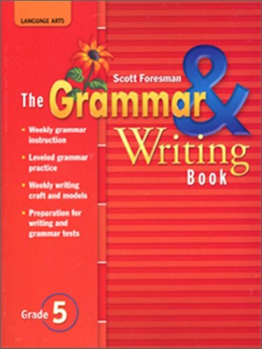 9780328146390: READING 2007 THE GRAMMAR AND WRITING BOOK GRADE 5