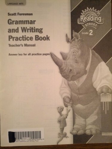 Grammar and Writing Practice Book, Teacher's Manual