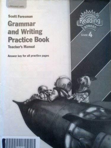 9780328146437: Scott Foresman Reading Street Grade 4 Grammar and Writing Practice Book Teacher's Manual
