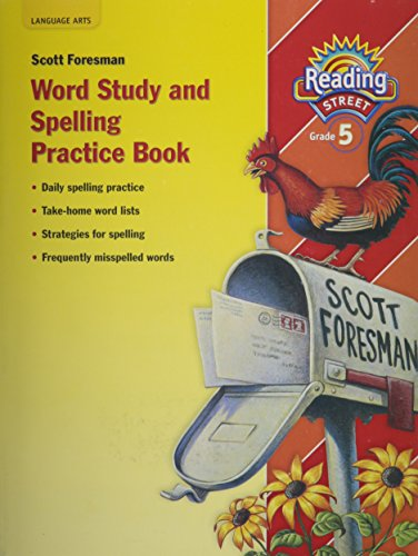 9780328146505: Reading Street: Word Study and Spelling Practice Book, Grade 5