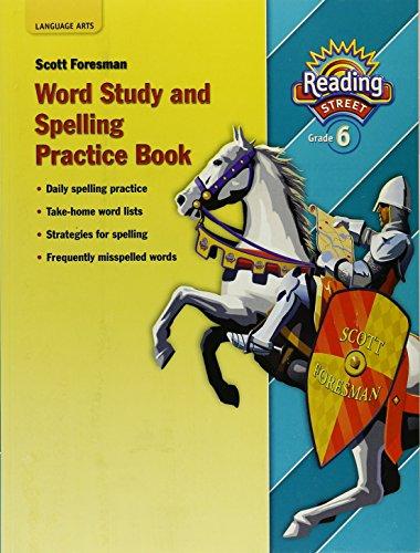 9780328146512: Reading 2007 Spelling Practice Book Grade 6