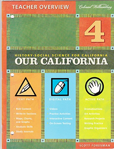 9780328155125: Teacher Overview: History-Social Science for California - Our California)