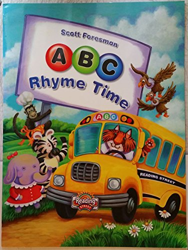 9780328161898: READING 2007 BIG BOOK GRADE 1.12 ABC RHYME TIME
