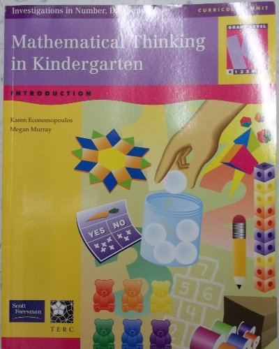 9780328167210: Mathematical Thinking in Kindergarten: Investigations in Number, Data, and Space Level K