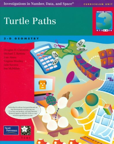 9780328167500: Turtle Paths, 2-D Geometry, Grade 3: Investigations in Number, Data, and Space