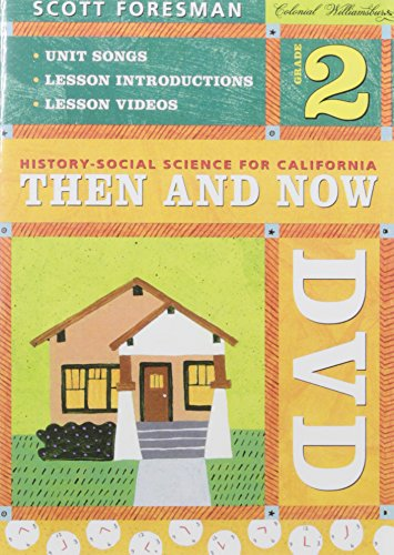 9780328168026: History - Social Science for California: Then and Now, Grade 2