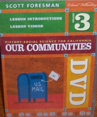 9780328168033: History Social Science 2006 DVD Grade 3 [USA]