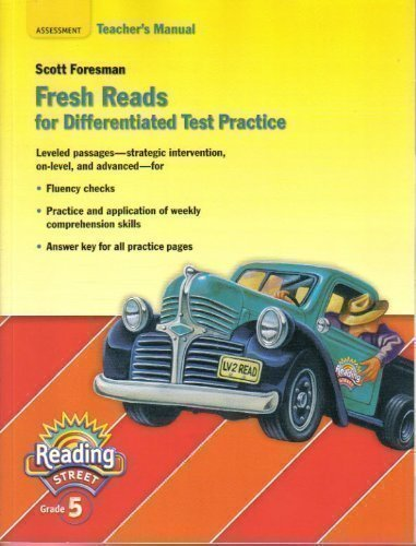 9780328169870: Reading Street Grade 5: Fresh Reads for Differentiated Test Practice, Teacher's Manual