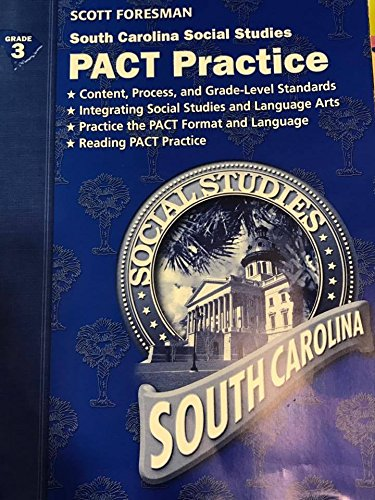 9780328195367: South Carolina Social Studies PACT Practice (Grade 3)