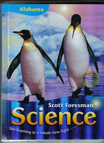 9780328195558: Scott Foresman Science Grade 1 (Alabama Edition)