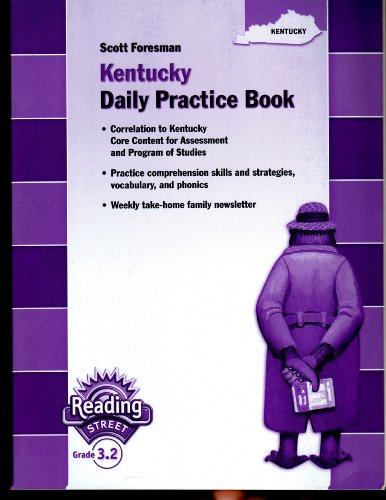 9780328198689: Scott Foresman Kentucky Daily Practice Book: Reading Street Grade 3.2