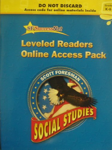 9780328206513: Scott Foresman Social Studies Grade K/6 Online Access Pack