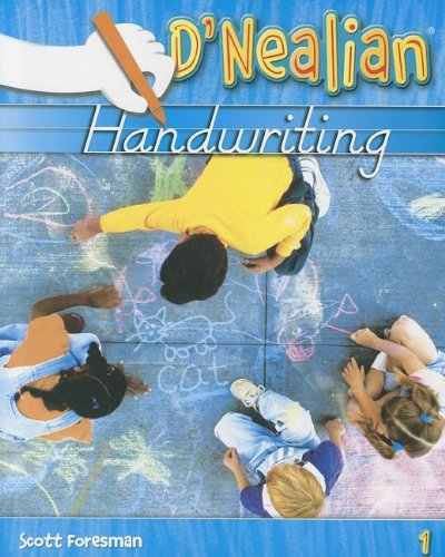 9780328211975: DNEALIAN HANDWRITING 2008 STUDENT EDITION (CONSUMABLE) GRADE 1