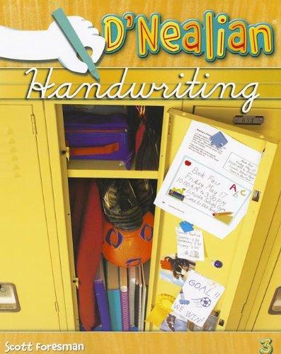 9780328211999: Dnealian Handwriting 2008 Student Edition (Consumable) Grade 3
