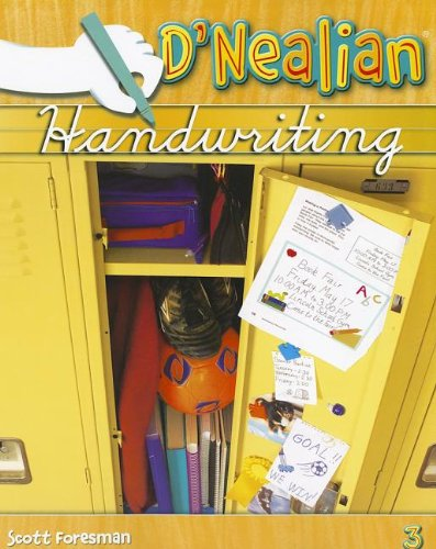 9780328211999: DNEALIAN HANDWRITING 2008 STUDENT EDITION (CONSUMABLE) GRADE 3