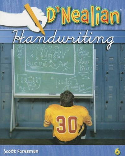 9780328212026: DNEALIAN HANDWRITING 2008 STUDENT EDITION (CONSUMABLE) GRADE 6