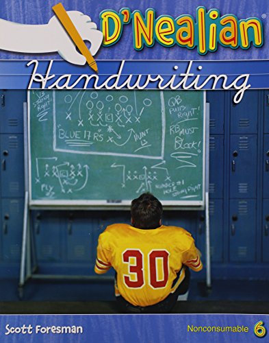 9780328212064: DNEALIAN HANDWRITING 2008 STUDENT EDITION (NON-CONSUMABLE) GRADE 6