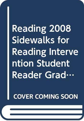 9780328215188: READING 2008 SIDEWALKS FOR READING INTERVENTION STUDENT READER GRADE 4 VOLUME 3