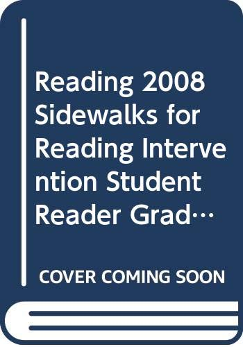 9780328215492: READING 2008 SIDEWALKS FOR READING INTERVENTION STUDENT READER GRADE 5 VOLUME 4