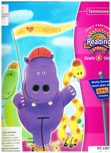 9780328220977: Scott Foresman Reading Street Grade K Unit 1 TN Edition