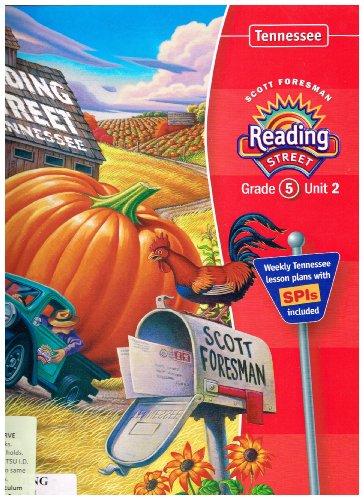 9780328221271: Reading Street Tennesee Grade 5 Unit 2 Teachers Edition