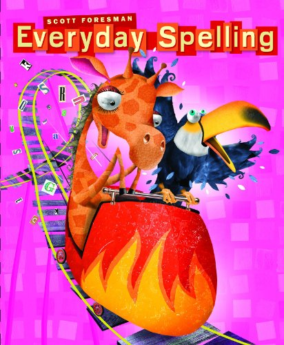 9780328222940: Everyday Spelling (2008 STUDENT EDITION CONSUMABLE GRADE 4)