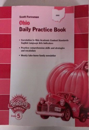 9780328228461: Ohio Daily Practice Book Teacher's Manual by Scott Foresman (Reading Street Grade 5, Daily Practice Book Teacher's Manual)