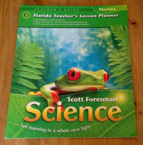 9780328232727: Florida Teachers Lesson Planner Grade 2 (Scott Foresman Science See Learning in a Whole new light)