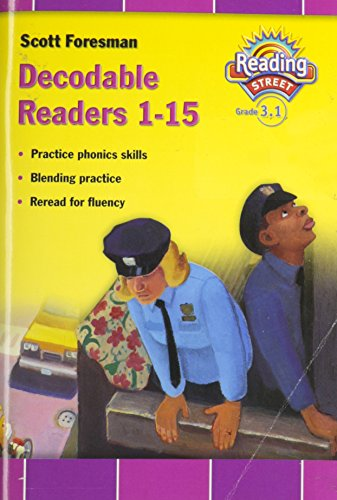 9780328233595: READING 2007 DECODABLE READER GRADE 3 VOLUME 1