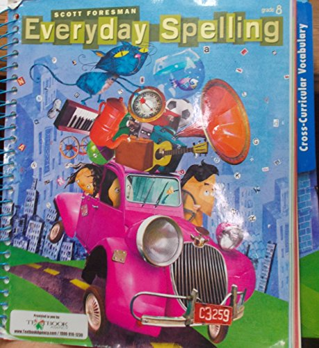 9780328233755: Spelling 2008 Teacher Edition Grade 8