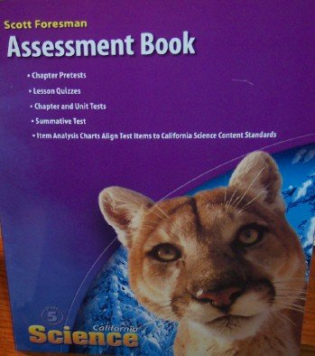 9780328236305: California Science Assessment Book Grade 5