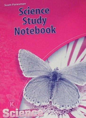 9780328236428: SCIENCE STUDY NOTEBOOK Grade K